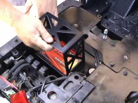 Kawasaki Teryx Battery Install