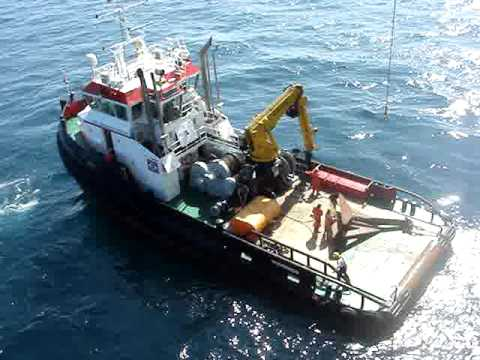 Sea Alfa with anchor ( Seacontractors )
