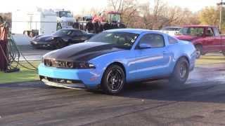 2012 Mustang GT N/A 1/4 Mile Run - 11.03 @ 121.5