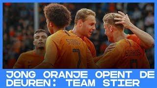 DOC | Jong Oranje opent de deuren: Team Stier