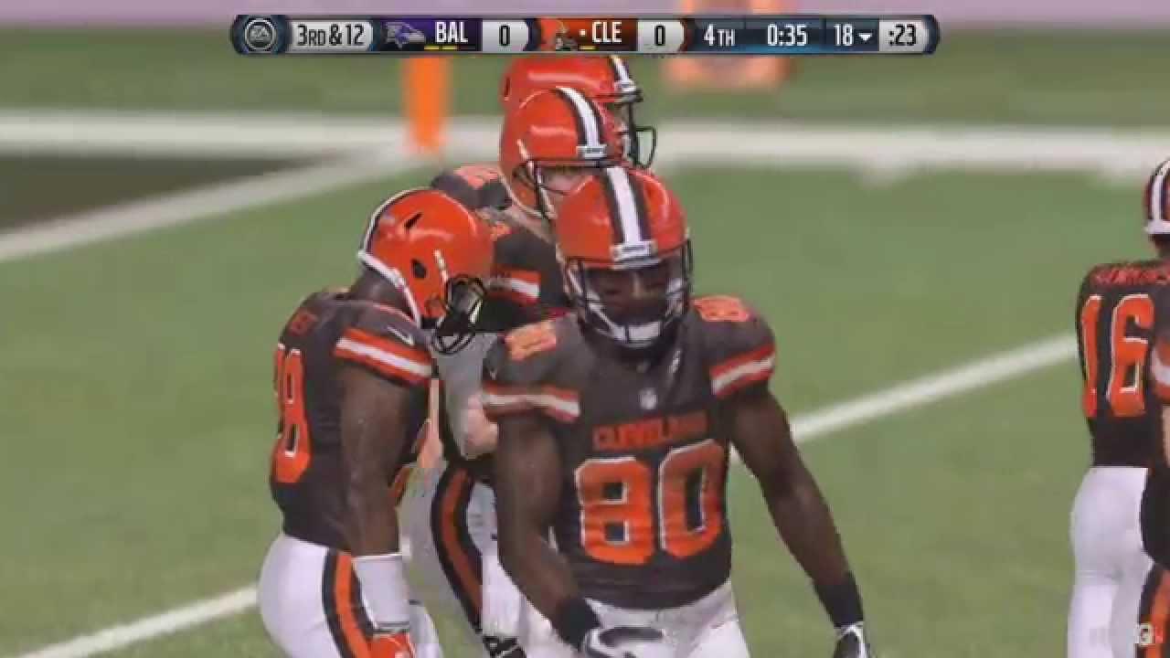 Cleveland Browns Madden 19