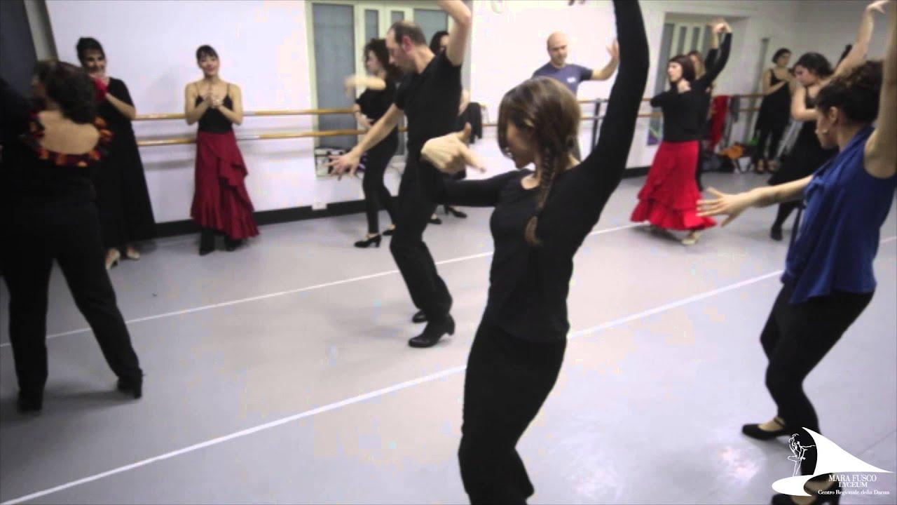 Lezione Special Di Flamenco Lyceum Mara Fusco