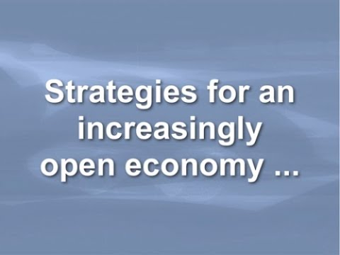 Strategies for an Increasingly Open Economy by Simon Wardley