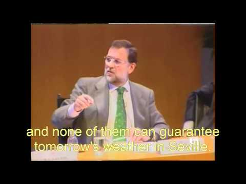 Spain's President Mariano Rajoy on Climate Change