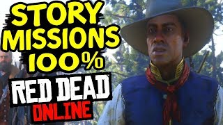 Red Dead Online STORY MISSION 100% Final Mission Unlocked Secret Ending