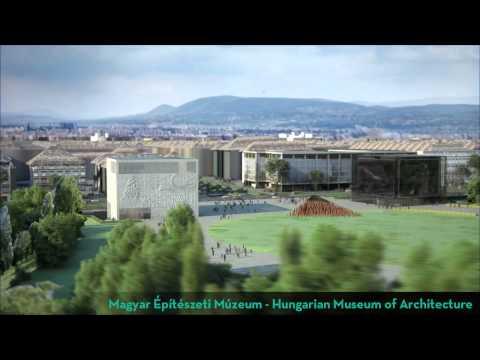布達佩斯博物館園區建築計劃:藤本壯介設計「匈牙利音樂廳」