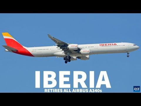 Iberia Retiring All Airbus A340s