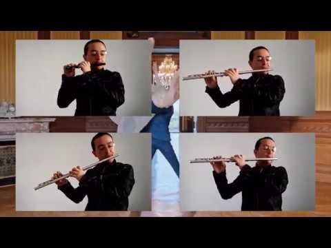"""Planetarium"" from LA LA LAND (Waltz) Flute and piccolo: Miguel Guillén"