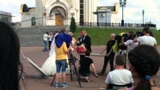 Съёмка сериала в Москве - 2