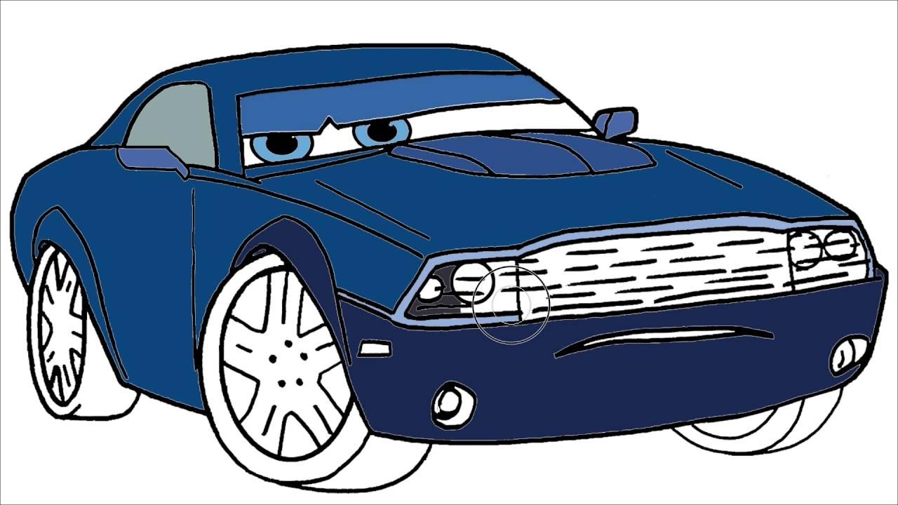 Cars Disney Arabalar çizgi Film Karakter Boyama 5 Minik Eller Boyama Kitabı
