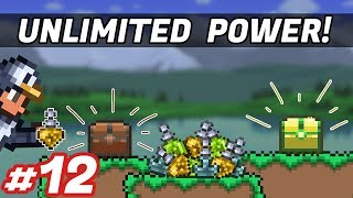 GATHER CHESTS & UNLIMITED POTIONS!! - Modded Terraria - Episode 12