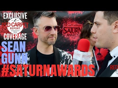 Sean Gunn #GuardiansoftheGalaxy interviewed at the 44th Annual #SaturnAwards Red Carpet