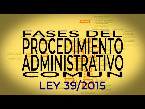 fases-del-procedimiento-administrativo-comun-de-las-administraciones-publicas---ley-39/2015