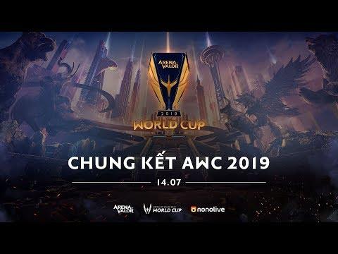 VIỆT NAM vs ĐÀI BẮC TRUNG HOA - CHUNG KẾT AWC 2019