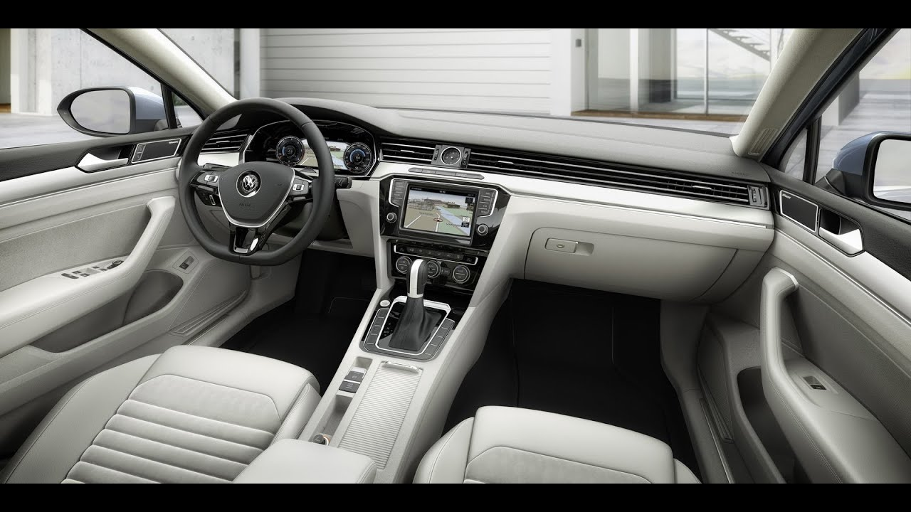 Volkswagen Passat 2015 interior - YouTube