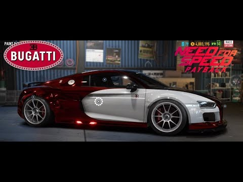 Bugatti Veyron In Need For Speed Payback Youtube