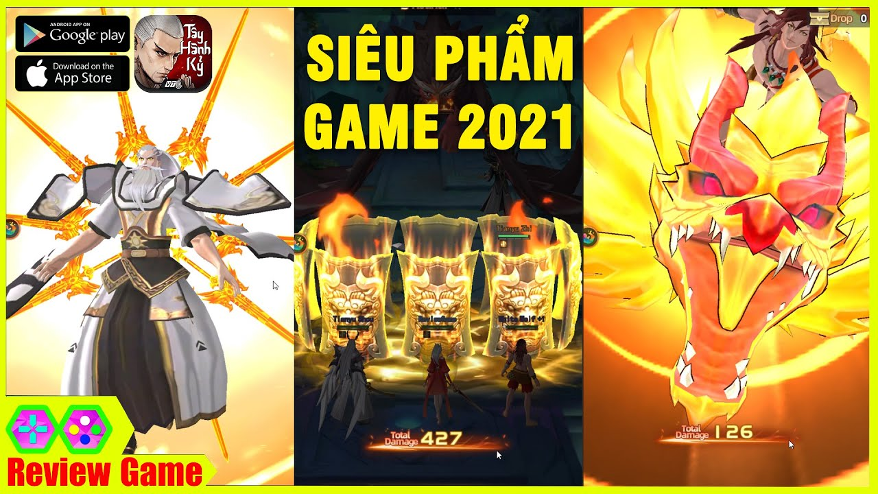 Tây Hành Kỷ Mobile - Bom Tấn Game Siêu Đỉnh Đẹp Nhất 2021 Ra Mắt Tại Việt Nam Không Phê Xóa Kênh