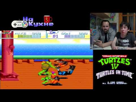 На кухне: TMNT IV - Turtles in Time