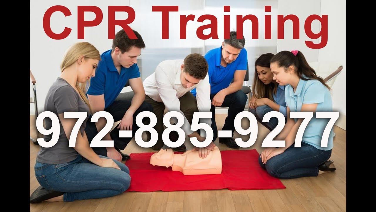 Aed Training First Aid Cpr Certification In Dallas Youtube