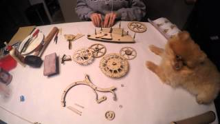 Wooden Mechanical Clock