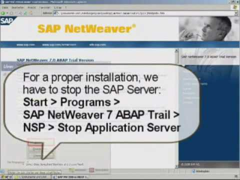sap abap installation guide youtube rh youtube com sap netweaver 7.4 abap installation guide sap netweaver abap installation guide