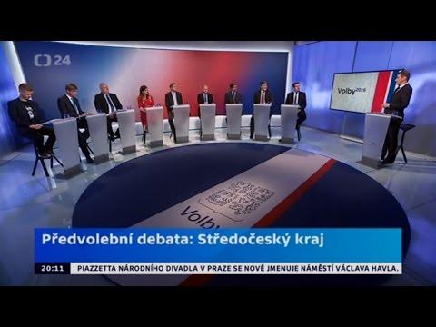 Předvolební debata: Středočeský kraj (4.10.2016)