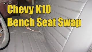 Chevy K10 Seat Swap