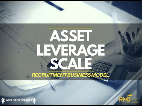 Asset, Leverage, Scale Recruitment Business Model
