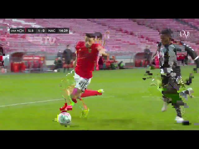 Goal | Golo Chiquinho: Benfica (1)-0 CD Nacional (Liga 20/21 #15)