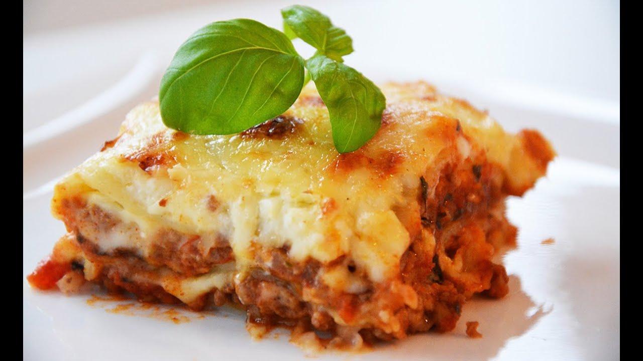 Best Lasagna Bolognese (with bechamel) - YouTube