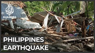 Powerful earthquake jolts central Philippines, homes damaged