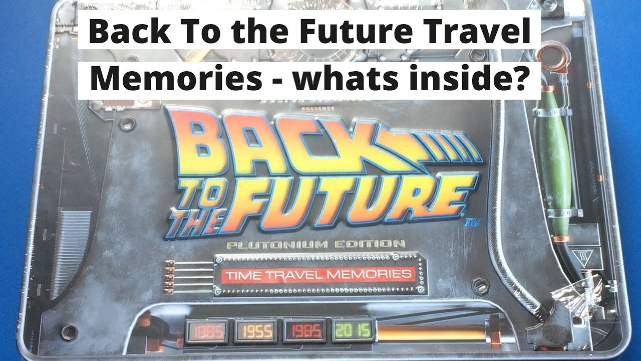Download Back To The Future - Time travel memories plutonium edition - but what's inside??