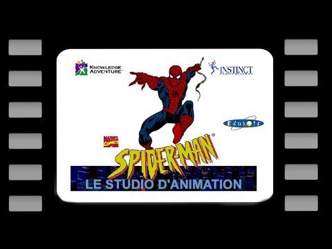 Let's play Le Studio d'animation de Spider-Man - Partie 1 - Présentation du soft