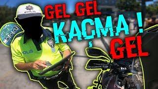 GEL KAÇMA GEL ! | POLİS ÇEVİRMESİ - Motoloji Motovlog