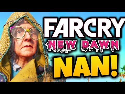 EXPLORING (with) MY NAN! - Far Cry New Dawn Funny Moments