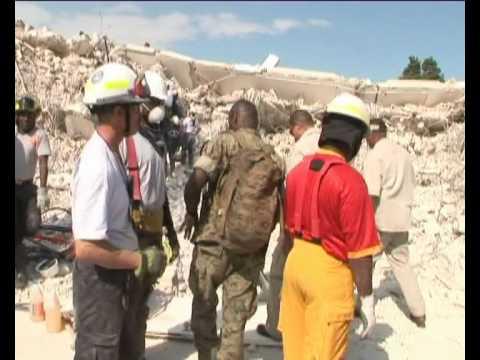 NewsNetworkToday: HAITI: BAN KI-MOON @ DESTROYED U.N. HEADQUARTERS (U.N. MINUSTAH)