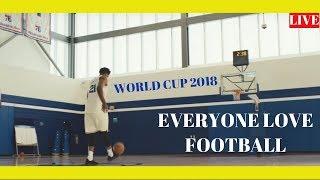 BASKETBALL MAN FOOTBALL SKILS 2018 LIVE WORLD CUP 2018 ♛ HD