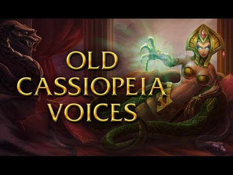 LoL Voices - Old Cassiopeia voices - 14 languages