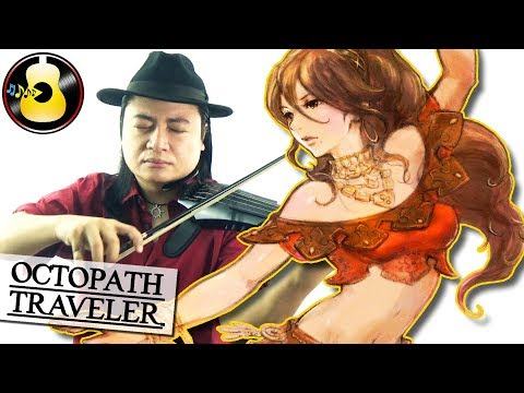 Octopath Traveler - Battle Theme (Rock Violin Cover) || String Player Gamer