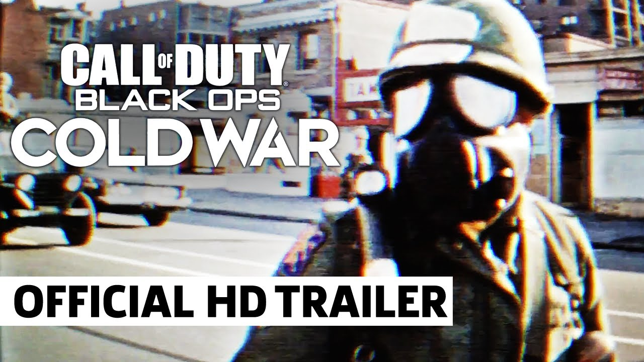 Call Of Duty Black Ops Cold War Official Know Your History Teaser Trailer Youtube