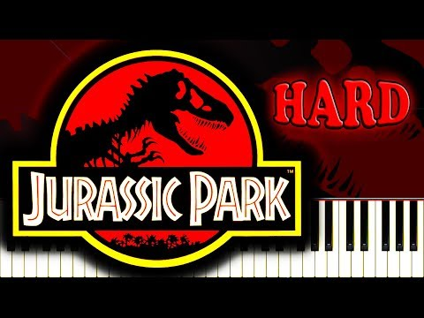 JURASSIC PARK - Piano Tutorial