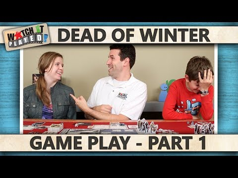 Dead Of Winter - Game Play 1