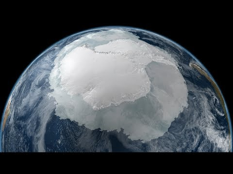 Как выглядит антарктида