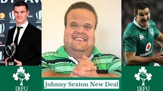 Johnny Sexton Extends Contract with Irish Rugby!