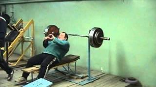 Жим лежа 150 кг в 65 лет