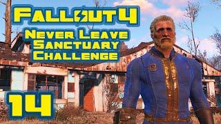 Let's Play Fallout 4: Never Leave Sanctuary Challenge - Part 14 - Radstag Get!