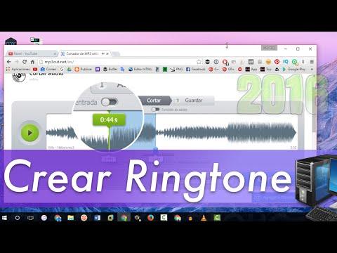 2 Formas: Crear ringtones personalizado para Android o iPhone Gratis