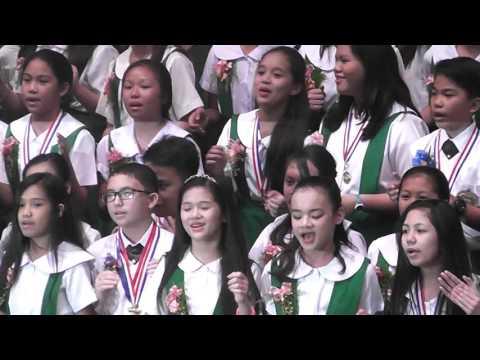 The batch song of the USJ-R Grade School 2016 graduates.