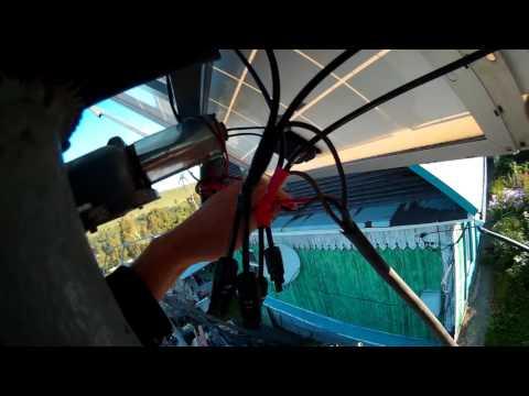 Механизм вращения солнечного трекера.