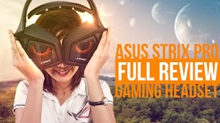 ASUS STRIX PRO Gaming Headset : Full Review / Unboxing / Mic ENC Test